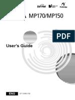 User Guide Mp150