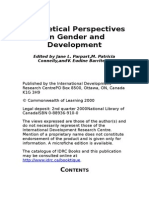 Theoretical Perspectives on Gender and Development [en]