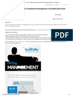 Bayt Com Infographic How Do Companies Hire Management in the Middle East