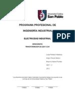 Monografia Electricidad Industrial