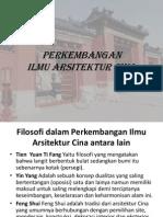 Sejarah Arsitektur Cina