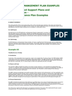 Pm Plan Examples 64-65