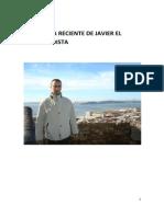 Antología Reciente de Javier El Vanguardista Julio 2014 eBook y Curriculum Actualizado