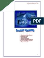 4.System Planning