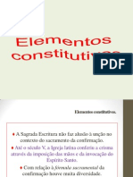 Elementos Constitutivos Da Confirmação - Cópia