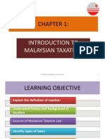 CHAPTER 1 taxation