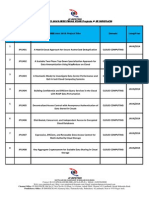 2014-2015 Ieee Java Project Titles