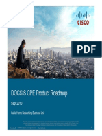 07 Cisco Docsis Cpe Roadmap Overview Sept 2010 Latam