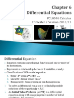 Chapter 6 - Differential Equations