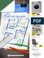 """Catalogue Ravate """"Ma Rentrée équipée"""""""
