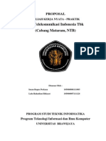 Contoh Proposal Pkl Telkom