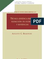 TeCNICA JURiDICA PARa LA REDACCioN DE ESCRITOS Y SENTENCIAS