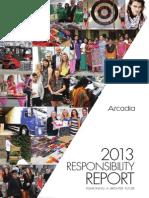 Arcadia Group Responsibilities Report 2013