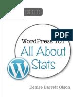WordPress 101 - All About Stats