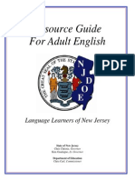 Resource Guide Adult English