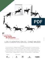 Cartel XIV Jornadas de Cine Mudo de Uncastillo