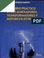 Practico de Los Generadores Transformadores y Motores Electricos Gilberto Enriquez Harper