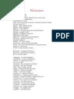 Liste de Pléonasmes