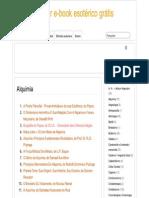Alquimia » Baixar E-book Esotérico Grátis