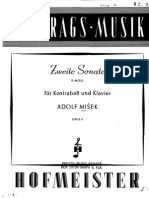 2nd Sonata for Double bass - A. Misek