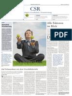 CSR Beilage Aus Der Frankfurter Allgemeine Zeitung Vom 10 Juni 2009l