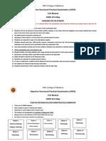 EM OSPE Guidelines - CVS Module-14