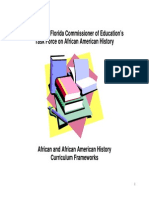 African and African American History Curriculum Frameworks