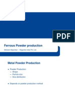 Ferrous Powder Production