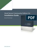 Zend Server CE 5.6 Installation Guide 012212