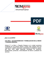 Constitucion de Empresas Mypes