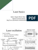 Laser Basics