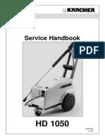 Karcher HD 1050  manual