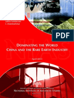 China, Rare Earth and the Grand Strategy