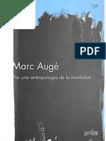 Auge, Marc - Por Una Antropología de La Movilidad