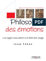Jean Frere Philosophie Des Emotions