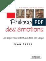 Jean Frere Philosophie Des Emotions