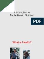 Public Health introduction