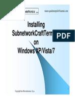 Install SCT on WinXP-WinVista-Win7 - Mauro Quadraruopolo