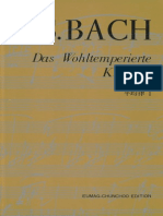 Bach - O Cravo Bem Temperado Livro 1