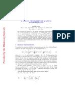 Michio Kaku - Stability Of Quantum