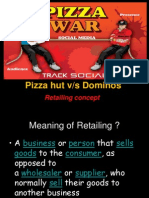 Pizza Hut vs Dominos