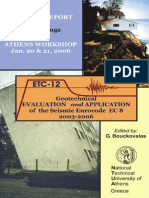 Genera Report Proceedings of the Athens Workshop 2006b