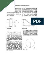 Problemas de Sistemas de Partículas, Dinamica de c.r y m.a.s