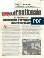 L' Internationale, No 3, January 1984