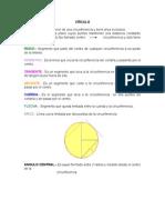 13) Circulo_ radio, diametro, tangente, secante, cuerda, flecha, arco_ angulo=central, inscrito, exterio