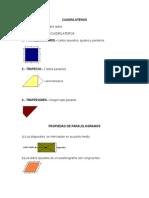 12) Cuadrilateros_ Paralelogramo, Trapecios, Trapezoides, Propiedad de Paralelogramos Teoremas