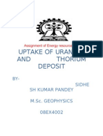 Uptake of Uranium and Thorium by Native and Cultivated Plantsa