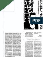 [Complementar] BERNARDET, Jean-Claude. Indagações Sobre Significações Politicas Do Cienma Novo. in. Trajetoria Critica