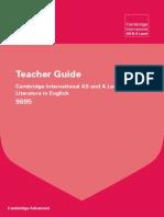 9695 Literature in English Teacher Guide 2012