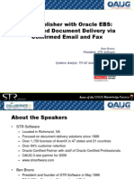 Fax Email Document Delivery Presentation